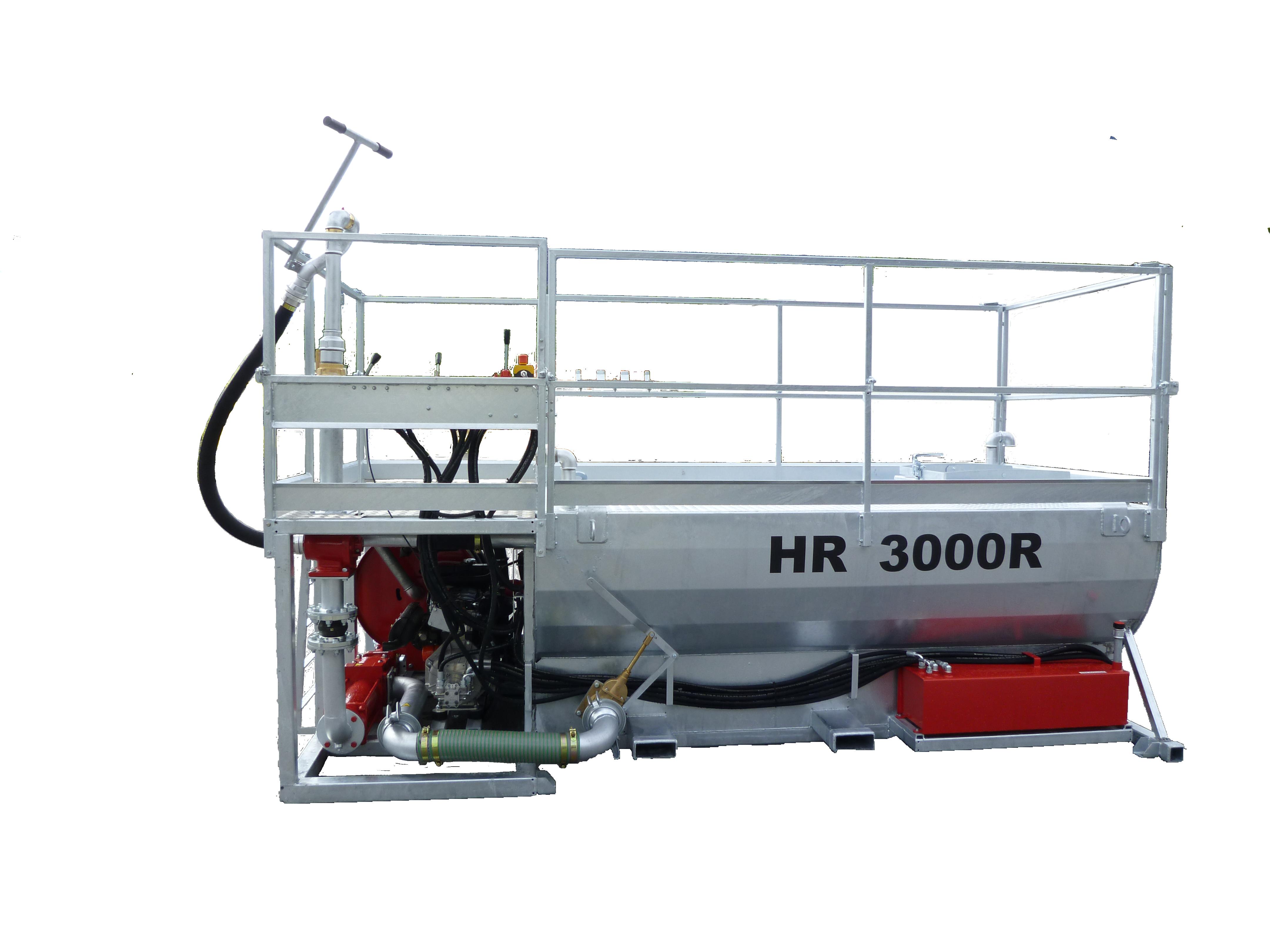 HR3000R coté sans fond